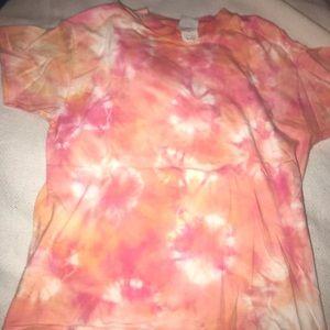 Tie dye small t shirt